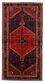 Toiserkan Rug 137X265 Authentic  Oriental Handknotted Dark Red/Rust Red (Wool, Persia/Iran)