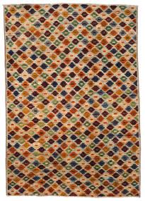 Moroccan Berber - Afghanistan Rug 200X289 Authentic  Modern Handknotted Brown/Dark Brown (Wool, Afghanistan)