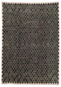 Moroccan Berber - Afghanistan Rug 202X286 Authentic  Modern Handknotted Dark Grey/Light Grey (Wool, Afghanistan)