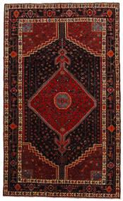 Toiserkan Rug 156X260 Authentic  Oriental Handknotted Dark Red (Wool, Persia/Iran)