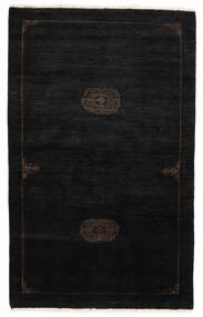 Huttan Rug 96X155 Authentic Oriental Handknotted Black (Wool, Pakistan)