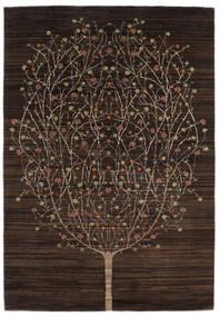 Gabbeh Loribaft Rug 169X243 Authentic  Modern Handknotted Dark Brown (Wool, India)