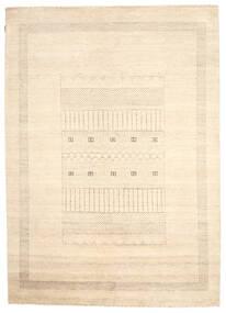 Gabbeh Loribaft Rug 199X277 Authentic  Modern Handknotted Beige (Wool, India)