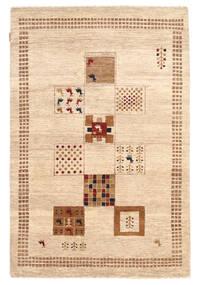 Gabbeh Loribaft Rug 122X184 Authentic  Modern Handknotted Beige/Light Brown (Wool, India)