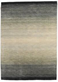 Loribaf Loom Rug 167X231 Authentic  Modern Handknotted Dark Grey/Light Grey (Wool, India)
