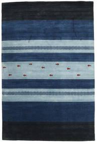 Loribaf Loom Rug 204X304 Authentic Modern Handknotted Dark Blue/Light Blue (Wool, India)