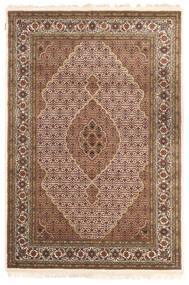 Tabriz Royal Rug 163X242 Authentic  Oriental Handknotted Brown/Dark Brown ( India)
