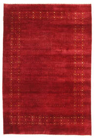 Gabbeh Loribaft Rug 120X178 Authentic  Modern Handknotted Crimson Red (Wool, India)