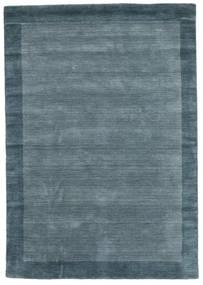 Handloom Frame - Petrol Blue Rug 160X230 Modern Blue (Wool, India)