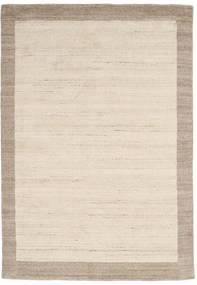 Handloom Frame - Natural/Sand Rug 160X230 Modern Beige/Light Grey (Wool, India)