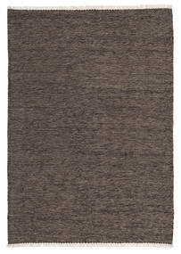 Kilim Rug 106X150 Authentic  Oriental Handwoven Dark Brown/Dark Grey (Wool, Persia/Iran)