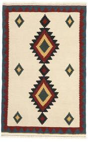 Kilim Rug 102X160 Authentic  Oriental Handwoven Beige/Dark Blue (Wool, Persia/Iran)
