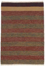 Kilim Rug 106X151 Authentic  Oriental Handwoven Dark Brown/Light Brown (Wool, Persia/Iran)