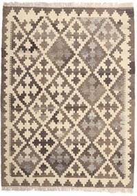 Kilim Rug 107X147 Authentic  Oriental Handwoven Beige/Light Grey (Wool, Persia/Iran)