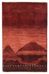 Gabbeh Persia Rug 79X122 Authentic  Modern Handknotted Dark Red (Wool, Persia/Iran)