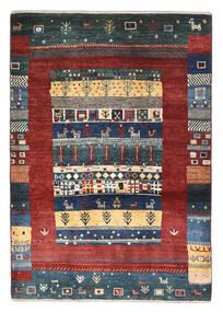 Gabbeh Persia Rug 86X125 Authentic  Modern Handknotted Black/Dark Red (Wool, Persia/Iran)