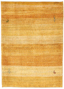 Gabbeh Persia Rug 103X148 Authentic  Modern Handknotted Light Brown/Yellow (Wool, Persia/Iran)