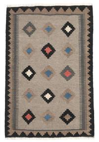 Kilim Rug 108X158 Authentic  Oriental Handwoven Light Grey/Dark Grey (Wool, Persia/Iran)