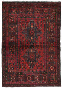 Afghan Khal Mohammadi Rug 105X152 Authentic  Oriental Handknotted Black/Dark Brown (Wool, Afghanistan)