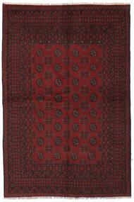 Afghan Rug 157X235 Authentic  Oriental Handknotted Black (Wool, Afghanistan)
