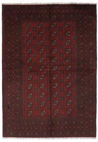 Afghan Rug 156X235 Authentic  Oriental Handknotted Black (Wool, Afghanistan)