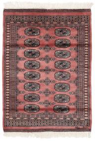 Pakistan Bokhara 2Ply Rug 79X109 Authentic Oriental Handknotted Dark Red/Black (Wool, Pakistan)