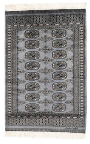 Pakistan Bokhara 2Ply Rug 81X116 Authentic Oriental Handknotted Black/Dark Grey (Wool, Pakistan)