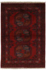 Afghan Khal Mohammadi Rug 99X145 Authentic  Oriental Handknotted Black (Wool, Afghanistan)