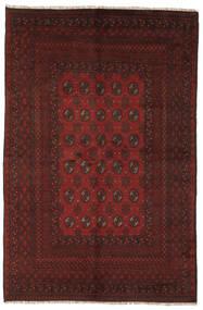 Afghan Rug 154X237 Authentic  Oriental Handknotted Black (Wool, Afghanistan)