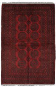 Afghan Rug 156X232 Authentic  Oriental Handknotted Black (Wool, Afghanistan)