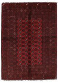 Afghan Rug 157X228 Authentic  Oriental Handknotted Black (Wool, Afghanistan)