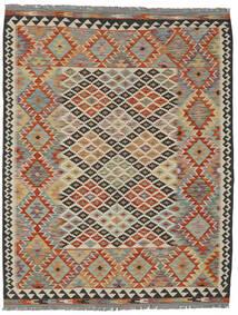 Kilim Afghan Old Style Rug 152X197 Authentic  Oriental Handwoven Dark Brown/Black (Wool, Afghanistan)