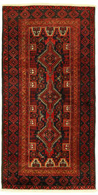 Baluch Rug 96X193 Authentic  Oriental Handknotted (Wool, Persia/Iran)