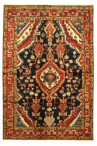 Hamadan Rug 138X203 Authentic  Oriental Handknotted (Wool, Persia/Iran)