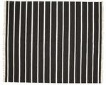 Dhurrie Stripe - Black / White