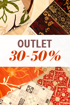 Outlet rugs 30-50%